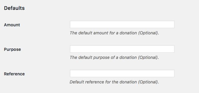 configurando o botão de doação do plugin do paypal