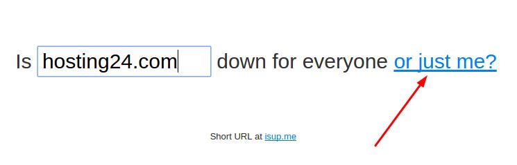 checando se um site está ou não funcionando pelo downforeveryoneorjustme.com