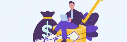 ilustração de tutorial sobre como ganhar dinheiro na internet em 2019