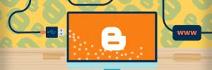 tutorial para aprender a como colocar domínio no Blogger