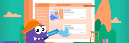 tutorial para aprender como colocar twitter no blog WordPress