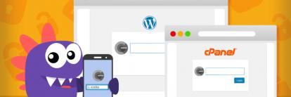 tutorial para aprender como ativar verificação em duas etapas no WordPress e no cPanel