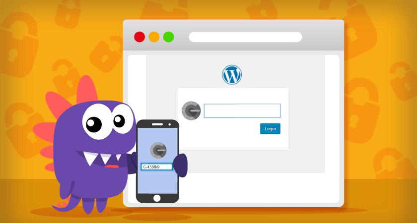 tutorial para aprender a como ativar verificação em duas etapas no CMS WordPress