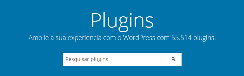 encontrando plugins