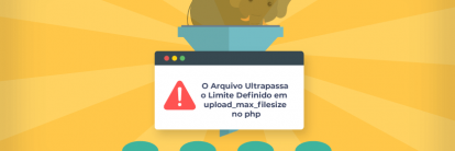 Como resolver o erro o arquivo ultrapassa o limite definido em upload_max_filesize no php.ini.
