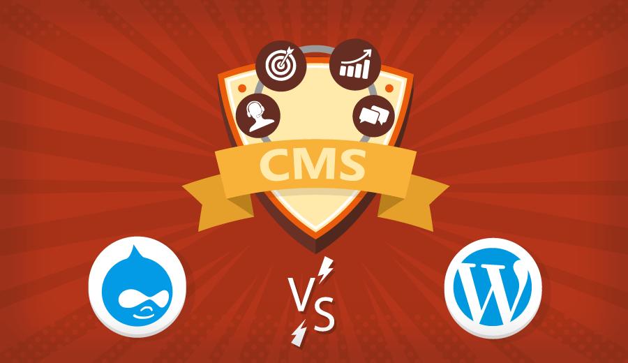 tutorial sobre Drupal vs Wordpress e ver qual plataforma é a melhor