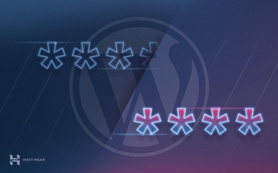 como mudar a senha do wordpress admin