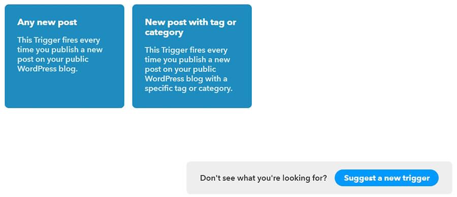 configure novo post