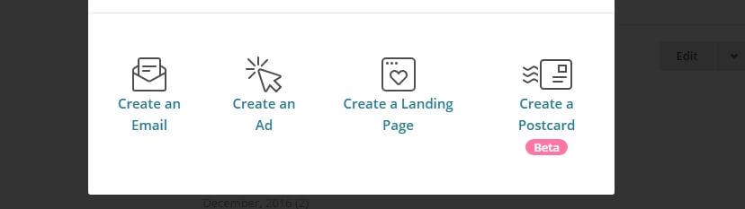 criar email de boas vindas