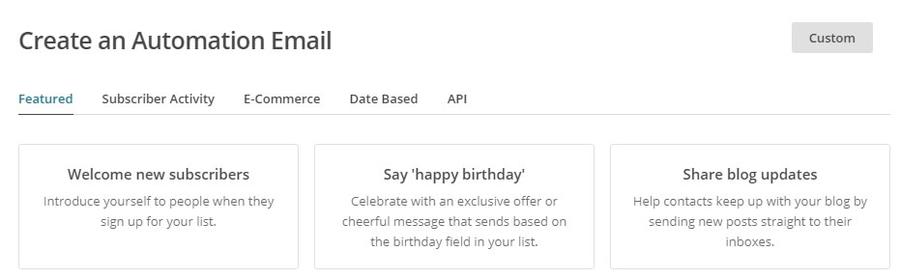notificar atualizacoes de email