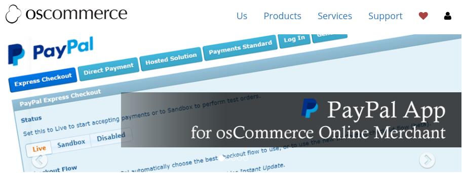 plataforma osCommerce