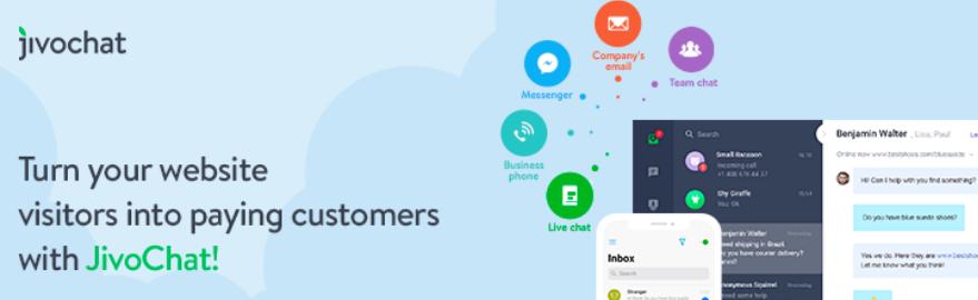 plugin jivochat para chat online no wordpress