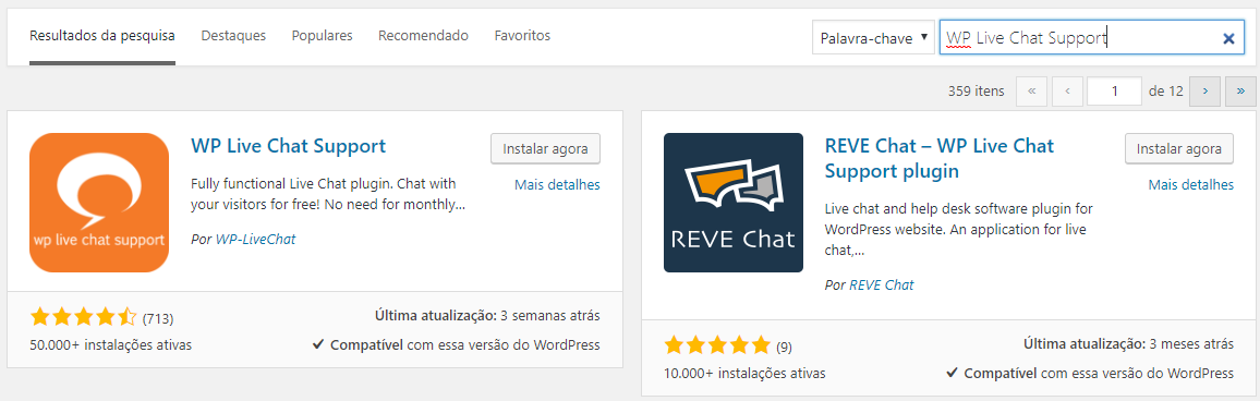 plugins de chat online WordPress