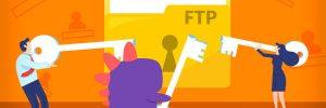 como criar contas ftp
