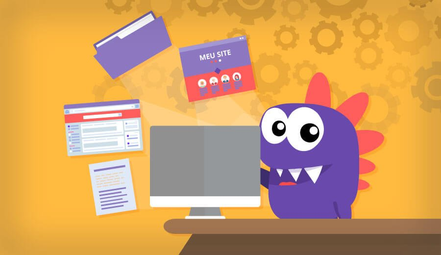 aprenda como fazer download de um backup do seu site