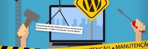 como remover o modo manutenção wordpress