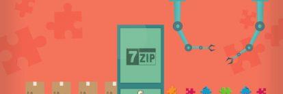 como usar o 7zip para compactar e descompactar arquivos