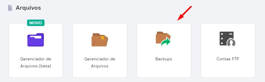 backups no hpanel