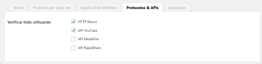verificando links quebrados