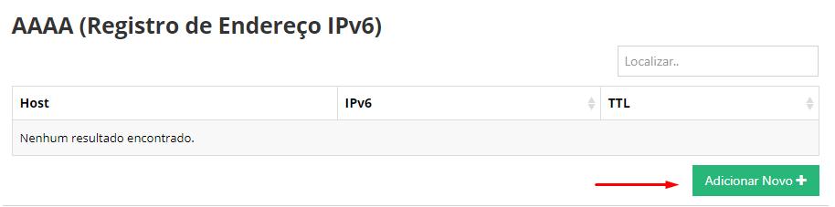 criar registro ipv6