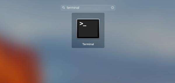 terminal no mac