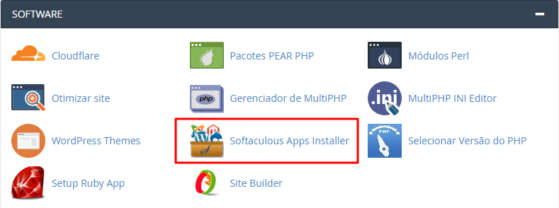 instalador softaculous no cpanel