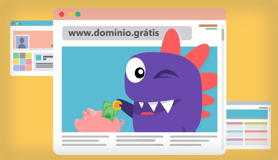 guia para aprender a como registrar um domínio grátis