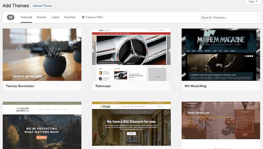 escolha temas wordpress para seu site de jogos