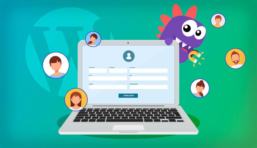 ensinamos como criar um site com área de membros wordpress