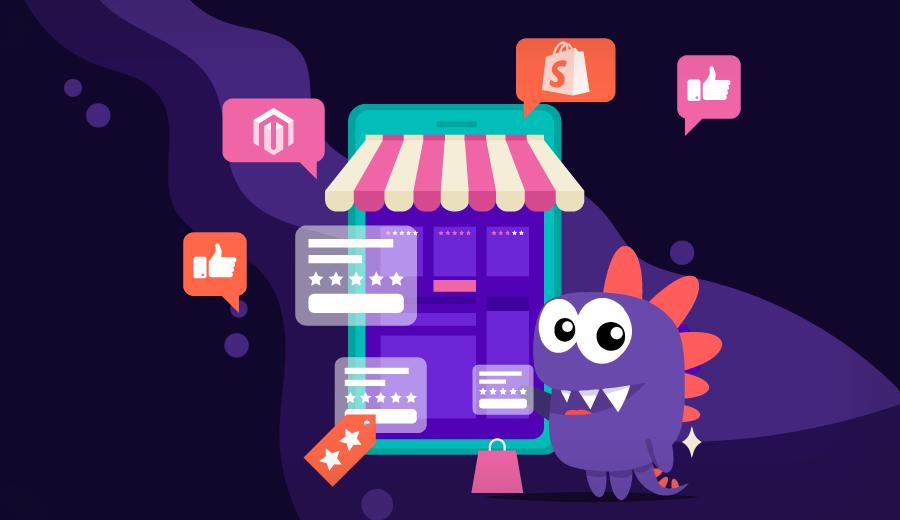 guia comparativo entre Magento vs Shopify e escolher o melhor CMS para loja virtual