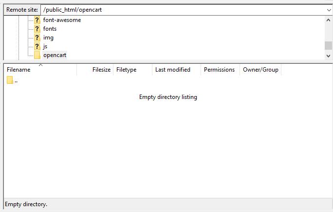 acesso da pasta public_html