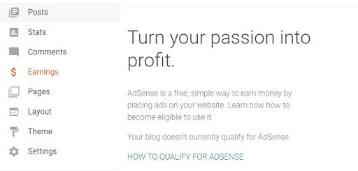 adicionar adsense no blogger