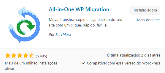 All-in-one WP Plugin WordPress