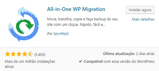 All-in-one WP Plugin WordPress