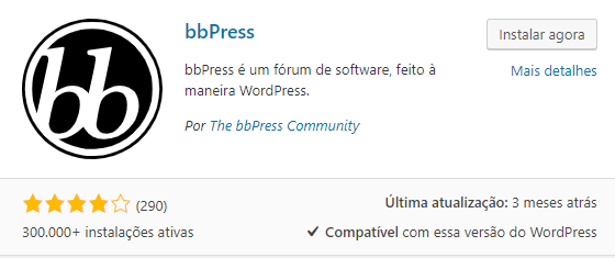 bbpress plugin wordpress