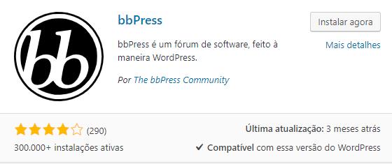 bbpress plugin wordpress