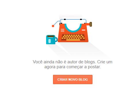 criar um blog no blogger