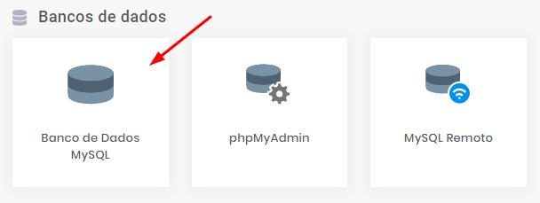 criando um banco de dados MySQL