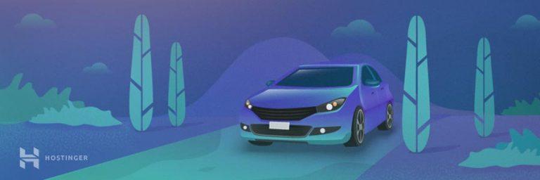 carro popular em comparação com hospedagem compartilhada