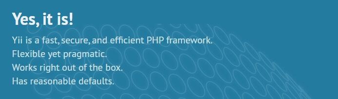 framework Yii