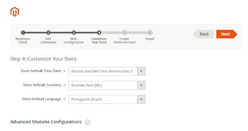personalização e customização da loja Magento