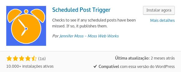 plugin wordpress scheduled post trigger