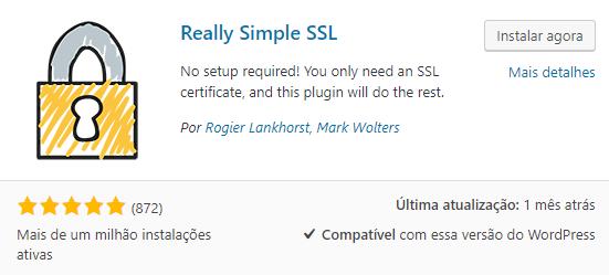 Really Simple SSL Plugin WordPress