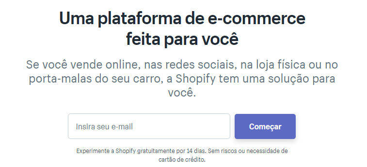 plataforma shopify
