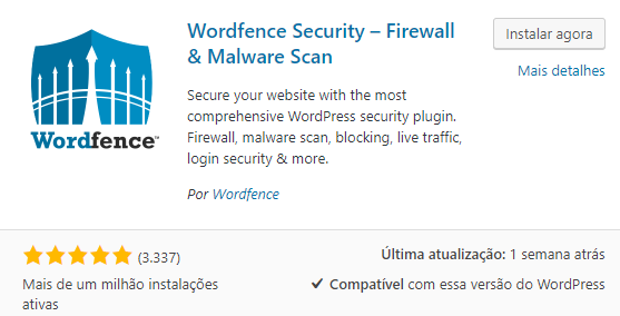 wordfence plugin do wordpress