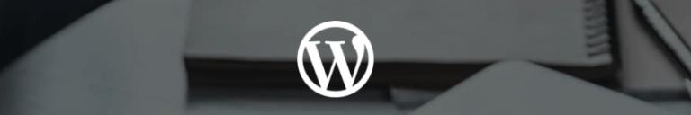 ícone do wordpress para usar o cms e aprender como criar um site