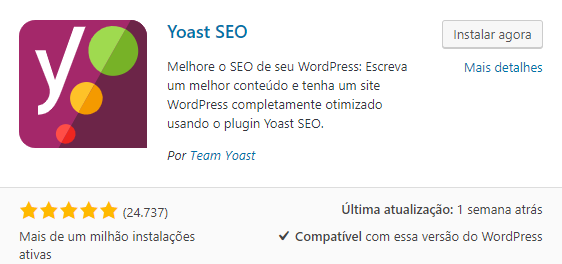 Plugin WordPress YoastSEO