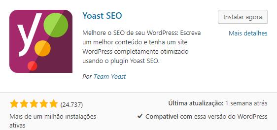 Plugin WordPress YoastSEO