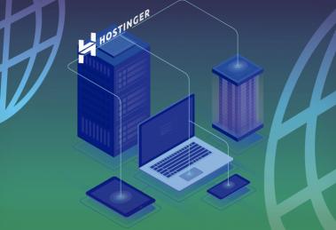 ilustração para conteúdo sobre como apontar nome de domínio para Hostinger