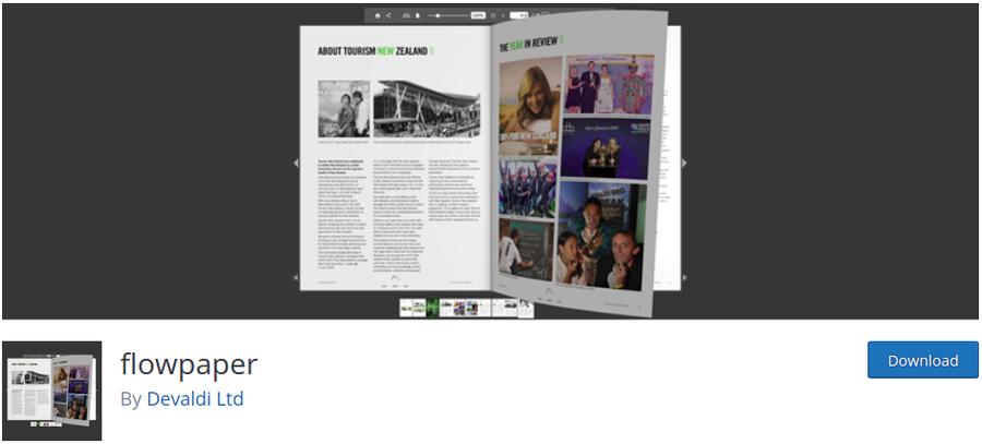 plugin pdf flowpaper